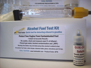Order  Alcohol Fuel Test Kit.