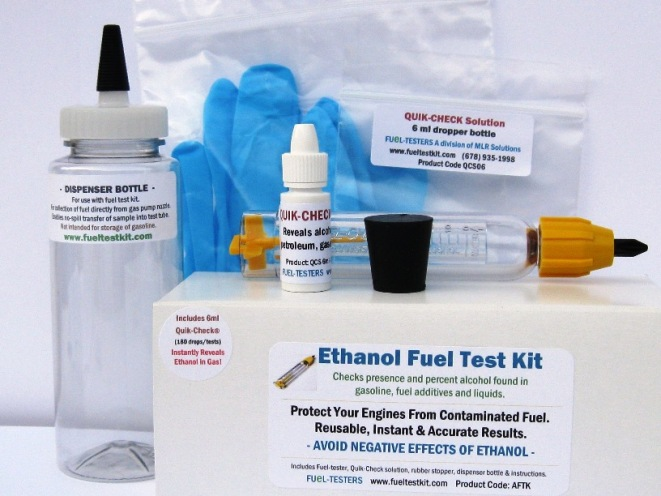 fuel testers instructions alcohol fuel test kit ethanol testing of gas. Black Bedroom Furniture Sets. Home Design Ideas