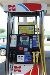 E85 blender gas pump image.