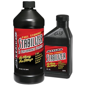 When a fuel stabilizer is necessary, we now only recommend our favorite product from Maxima Racing USA