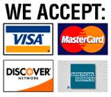 Order Now: We accept all credit cards and Paypal, Visa, Mastercard, Discover, American Express...